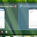 Windows 7 taskbar integration for WLM Wave 4