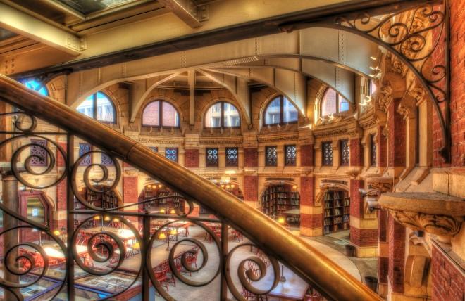 Fisher Fine Arts Library, University of Pennsylvania