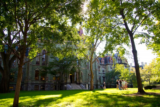 College Hall, College Green, University of Pennsylvania