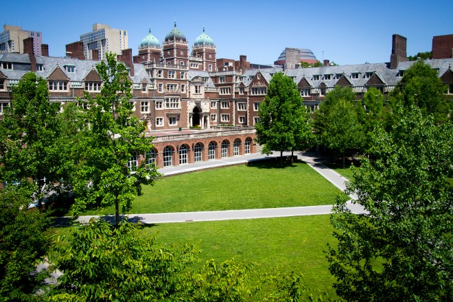 Ware College House and the Lower Quad