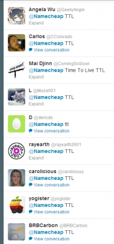 "Screenshot of Twitter users giving the ""TTL"" answer, which should be wrong."
