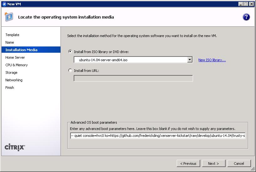 Installing Ubuntu 14.04 requires the server ISO