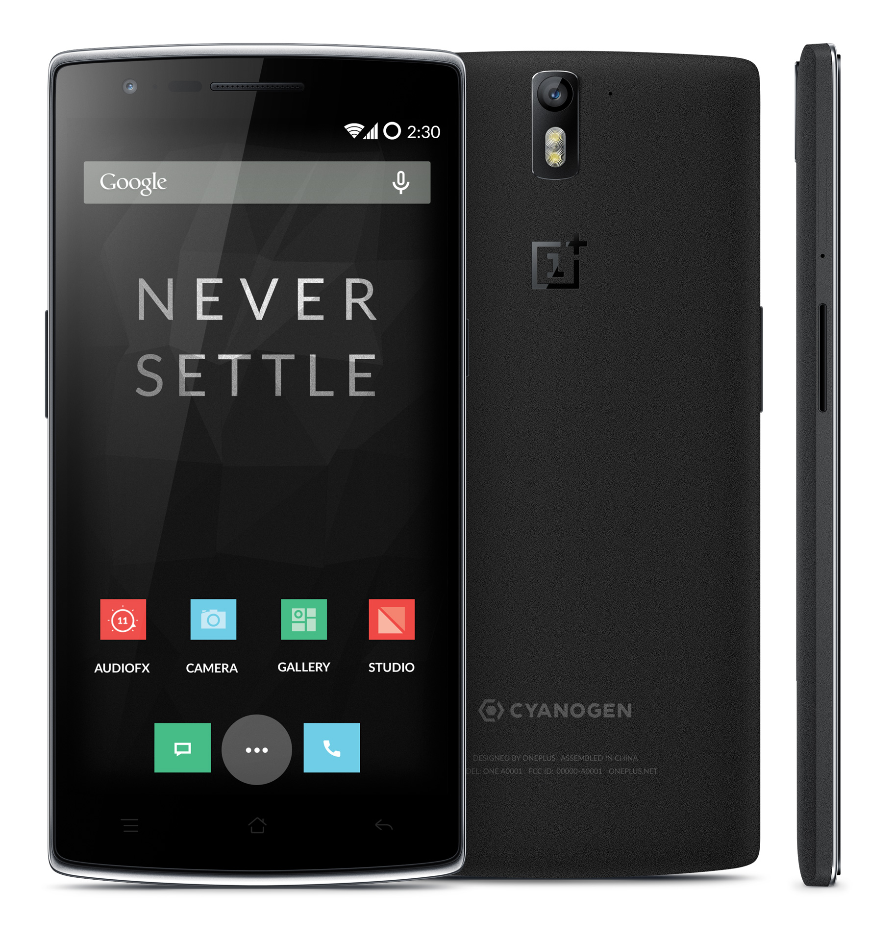 OnePlus One 64 GB Black Sandstone model