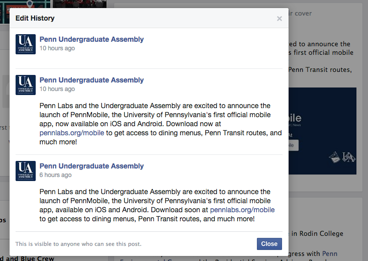 Review: PennMobile app, and its botched launch « Frederick's Timelog