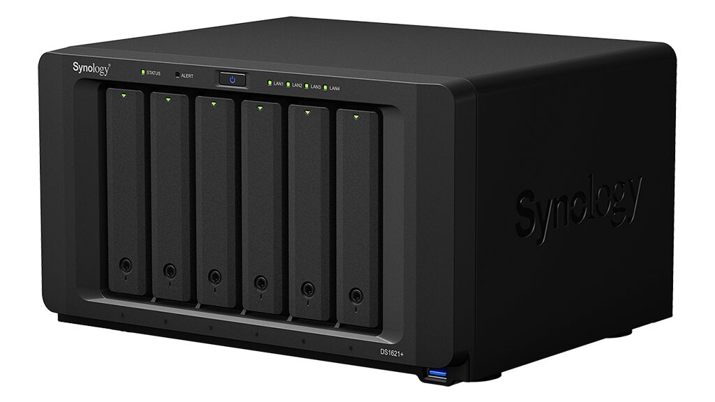 Synology DS1621+ NAS product photo